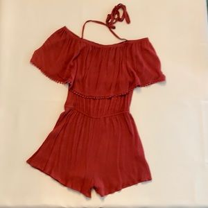 NEW Coveted Clothing Ruffled Romper